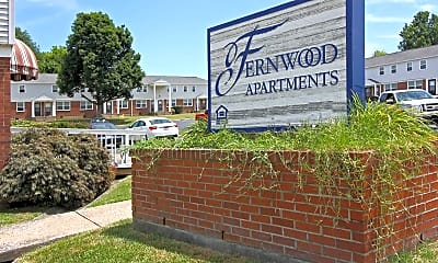 Community Signage, Fernwood Apartments, 2
