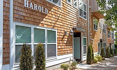 Building, Harold Apartments, 1