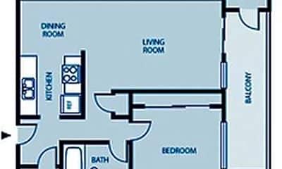 Bathroom, 620 Ward St, 2