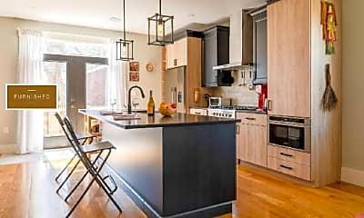 Kitchen, 53R Bailey St, 1