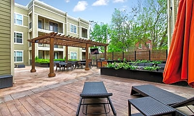 Recreation Area, West 39th Street Apartments, 1