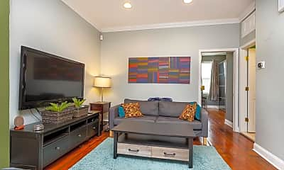 Living Room, 337 S 12th St 3A, 1