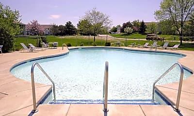 Pool, Heritage Village Apartments - Greenfield, WI, 1