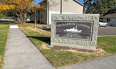 Tri-Harbor Landing, 1