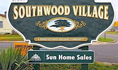 Community Signage, Southwood Village, 2