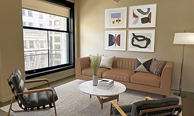 Living Room, 315 W 5th St 712, 0