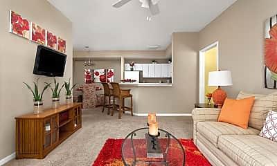 Living Room, Bridge Pointe, 0