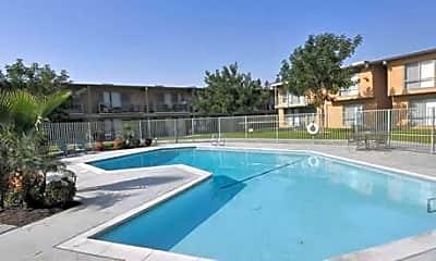 Pool, Mountain View Apartments, 1