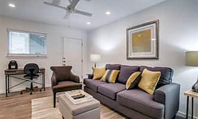 Living Room, 4928 Live Oak Street, 1