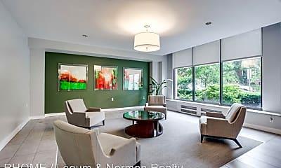 Living Room, 2030 F Street, 2