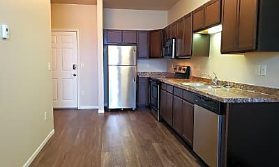 Kitchen, West Creek Crossing Apartments, 1