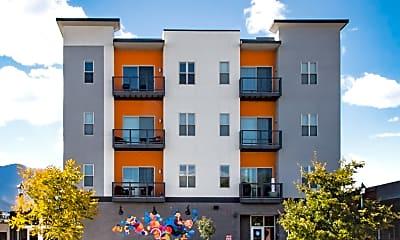 Building, Blue Dot Place Apartments, 0