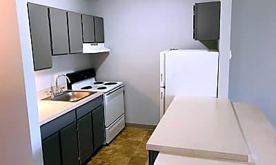 Kitchen, Barbur Place Apartments, 0