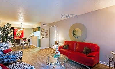Living Room, 3601 Magic Dr, 1