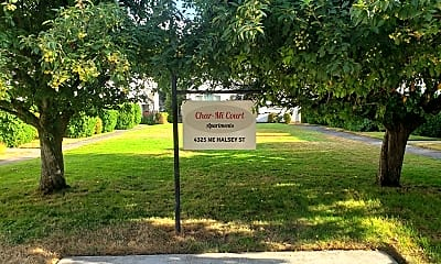 Community Signage, 4325 NE Halsey Street, 2