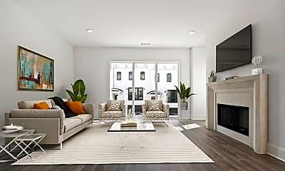 Living Room, 3667 Peachtree Rd NE 15, 1