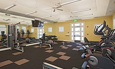 Fitness Weight Room, The Apartments at Spence Crossing, 1