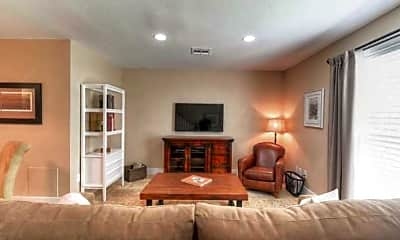 Living Room, Kempwood Townhomes, 1