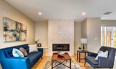 Living Room, 1419 Irving St, 0