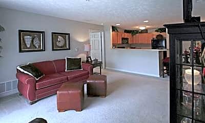 Living Room, Stone Ridge Apartments, 1