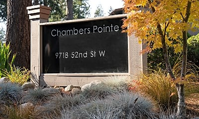 Community Signage, Chambers Pointe Apartments, 0