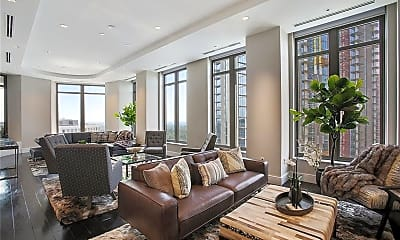 Living Room, 3376 Peachtree Rd NE 35B, 1