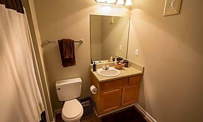 Bathroom, Lealand Place, 2