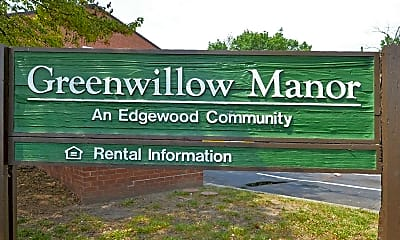 Community Signage, Greenwillow Manor Apartments, 2