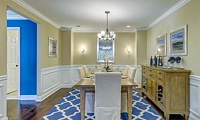 Dining Room, 1301 Lexington Mews, 1