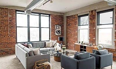 Living Room, Joslyn Lofts, 0