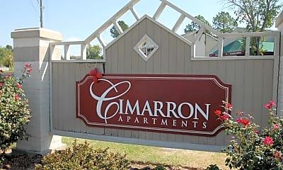 Community Signage, Cimarron, 2