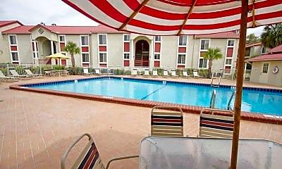 Pool, Cazabella Apartments, 1