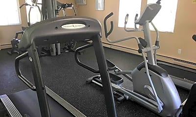Fitness Weight Room, Cherry Hill Manor Apartments, 2