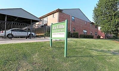Community Signage, La Villa Apartments, 2