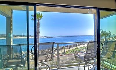 Patio / Deck, 2595 Ocean Front Walk 6, 0