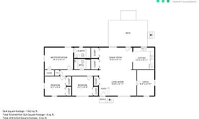 Patio / Deck, 2306 Clements Dr, 2