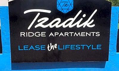 Community Signage, Tzadik Bay, 2