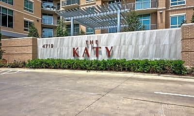 Community Signage, The Katy, 2