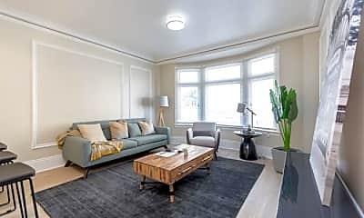 Living Room, 847 Pine St, 0