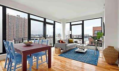 Living Room, 2211 3rd Ave 7-G, 0