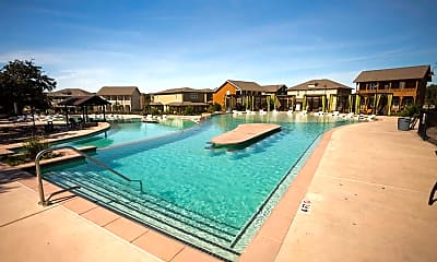 Pool, The Cottages at San Marcos, 1