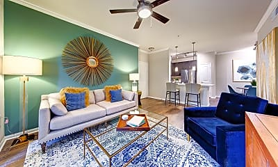 Living Room, Marquis at the Woodlands, 0
