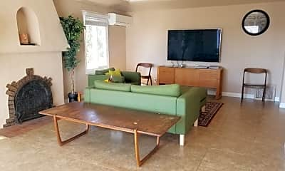 Living Room, 1051 S Curson Ave, 0