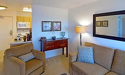 Living Room, The Villa At San Mateo, 1