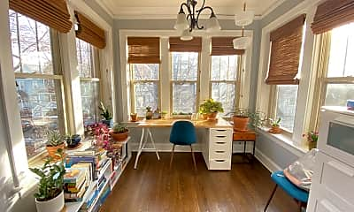 Living Room, 3728 N Marshfield, Unit 1, 0