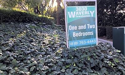 Community Signage, 3030 Waverly Dr, 2