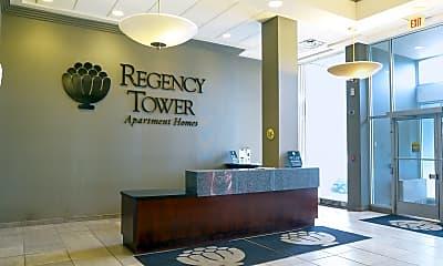 Community Signage, Regency Tower, 1