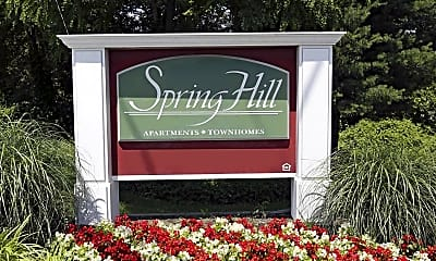 Community Signage, Spring Hill Apartments and Townhomes, 2