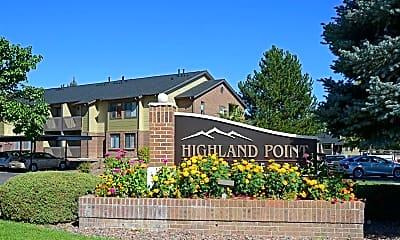 Community Signage, Highland Point, 2