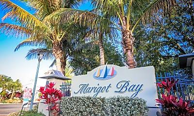 Community Signage, Marigot Bay, 2